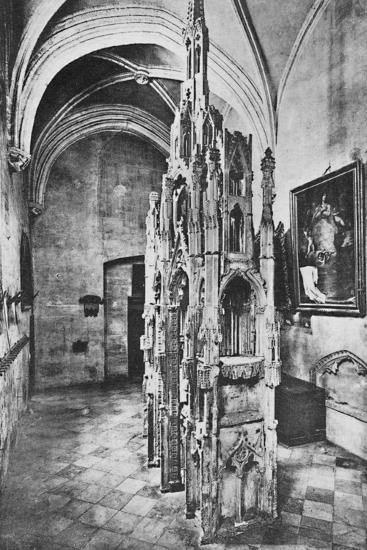 'Interior Tomb of the Pope Jean XXII', c1925-Unknown-Photographic Print
