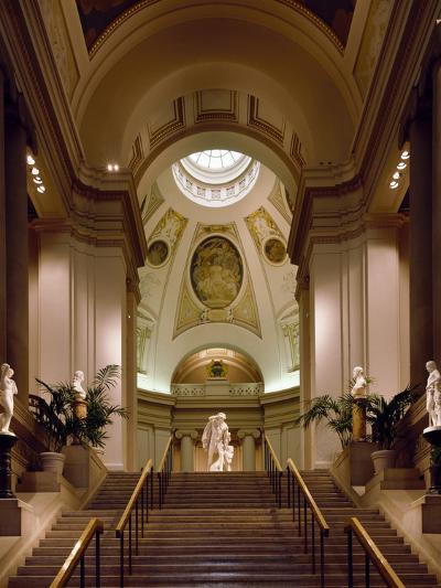 Interior View of Museum of Fine Arts-Carol Highsmith-Photo