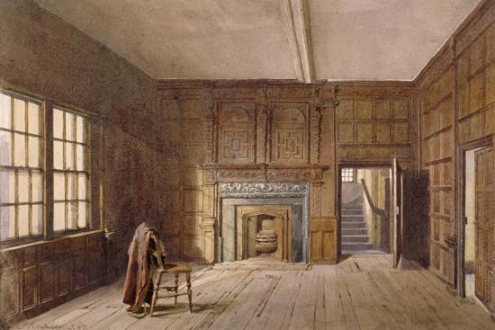 Interior View of Sir John Spencer's Room in Canonbury House, Islington, London, 1887-John Crowther-Giclee Print