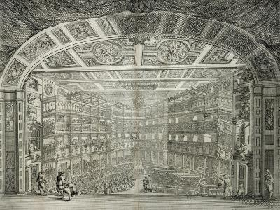 Interior View of Teatro Degli Immobili (Property Theatre) in Florence--Giclee Print