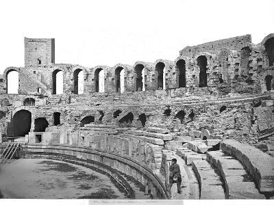 Interior View of the Amphitheatre--Giclee Print