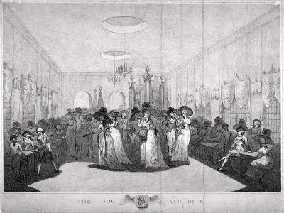 Interior View of the Dog and Duck Inn, St George's Fields, Southwark, London, 1789--Giclee Print