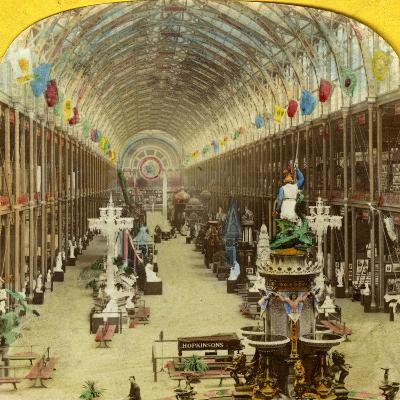 Interior View of the International Exhibition, London--Photographic Print