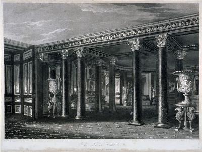 Interior View of the Lower Vestibule in Carlton House, Westminster, London, 1819-RG Reeve-Giclee Print