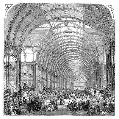 Interior View of the Manchester Exhibition, 1857 (Late 19th Centur)--Giclee Print