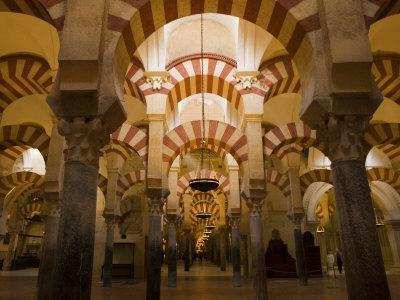 Interior View of the Mezquita, an 8th Century Mosque-Scott Warren-Photographic Print