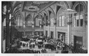Interior View of the New New York Stock Exchange