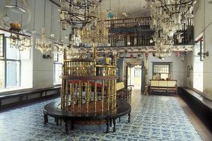 Interior View of the Paradesi Synagogue