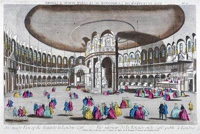 Interior View of the Rotunda in Ranelagh Gardens, Chelsea, London, C1760--Giclee Print