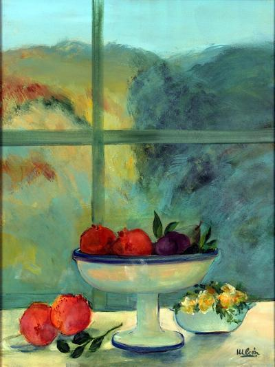 Interior with Window and Bowl-Marisa Leon-Giclee Print