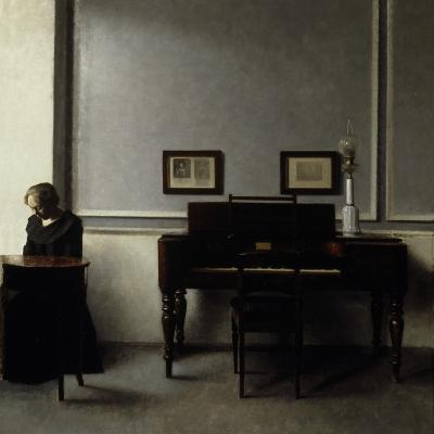 Interior-Vilhelm Hammershoi-Giclee Print
