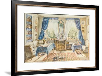 Interior--Framed Giclee Print
