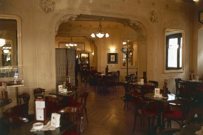Interiors of a Cafe, Cafe Tommaseo, Trieste, Friuli-Venezia Giulia, Italy--Giclee Print