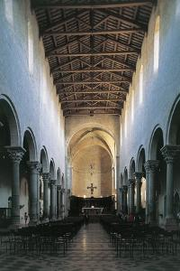 Interiors of a Cathedral, Todi, Umbria, Italy