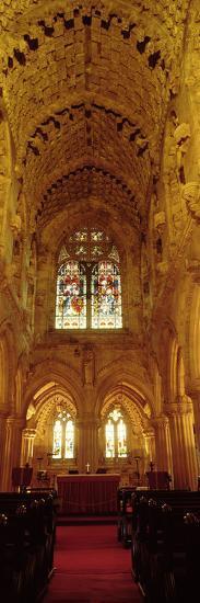 Interiors of a Chapel, Rosslyn Chapel, Roslin, Midlothian, Edinburgh, Scotland--Photographic Print
