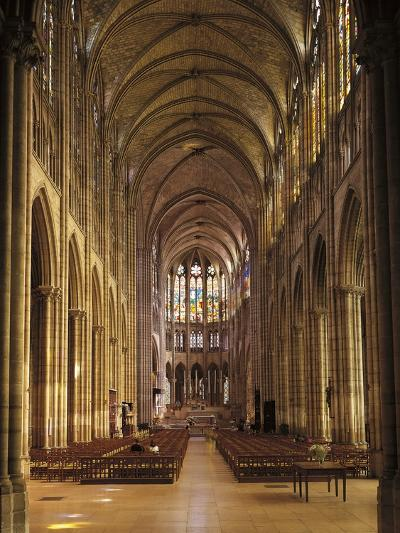 Interiors of a Church, Saint Denis Basilica, Ile-De-France, France--Giclee Print