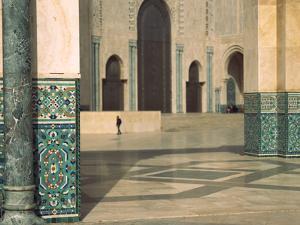 Interiors of a Mosque, Mosque Hassan Ii, Casablanca, Morocco