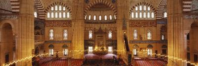 Interiors of a Mosque, Selimiye Mosque, Edirne, Turkey--Photographic Print