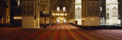 Interiors of a Mosque, Ulu Camii, Bursa, Bursa Province, Turkey--Photographic Print
