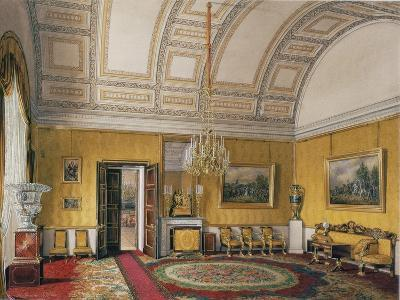 Interiors of the Winter Palace, the First Reserved Apartment, 1866-Eduard Hau-Giclee Print