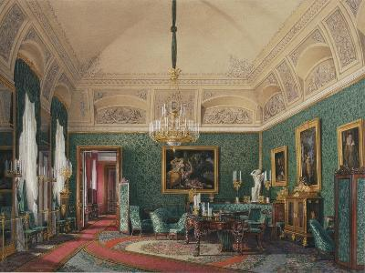 Interiors of the Winter Palace, the First Reserved Apartment, 1867-Eduard Hau-Giclee Print