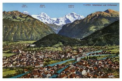 Interlaken, Switzerland, 20th Century--Giclee Print