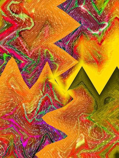 Interlocking Colors-Ruth Palmer-Art Print