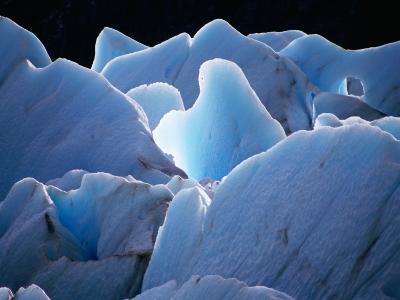 Interlocking Seracs of the Glaciar Torre-Gareth McCormack-Photographic Print