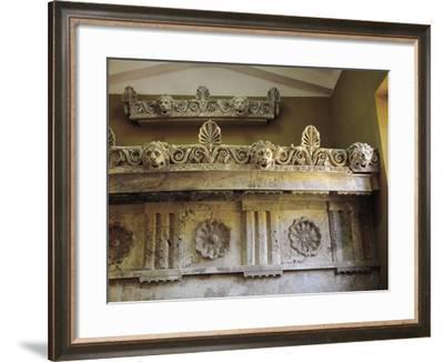 Internal Trabeation from Tholos of Epidaurus--Framed Giclee Print