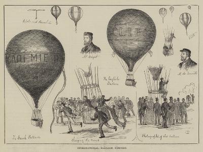International Balloon Contest--Giclee Print
