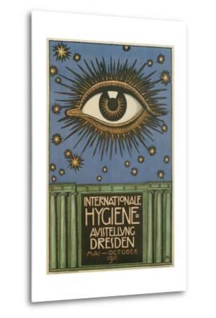 International Hygiene Exhibition Poster with Eye