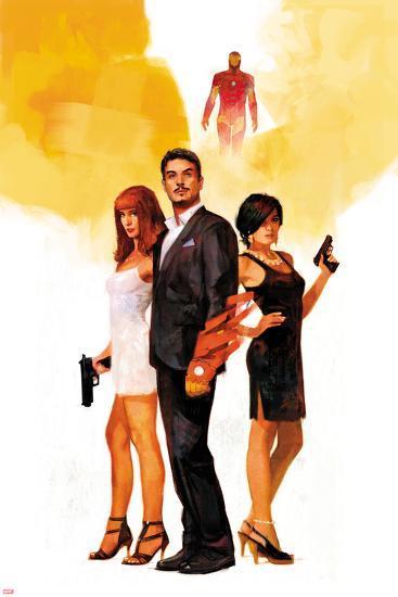 International Iron Man No. 1 Cover Featuring Mary Jane Watson, Stark, Tony, Iron Man, Amara Perera-Alex Maleev-Art Print
