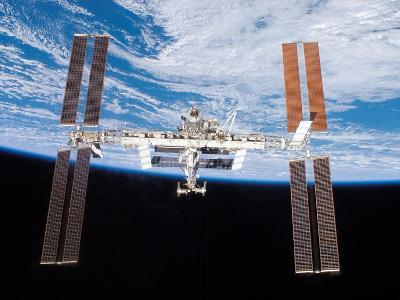 International Space Station in 2007--Photo