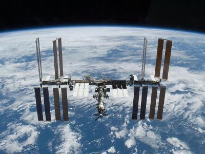 International Space Station in 2009--Photo
