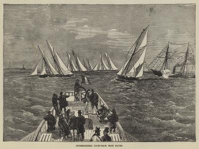 International Yacht-Race from Havre--Giclee Print