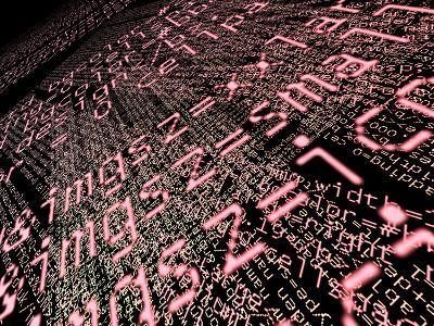 Internet Computer Code-Christian Darkin-Photographic Print