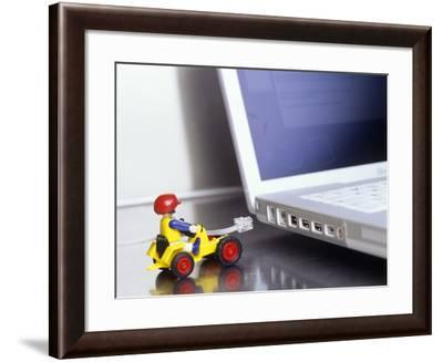 Internet Connection-Carlos Dominguez-Framed Photographic Print