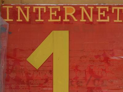 Internet Sign--Photographic Print