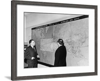 Interpol, Paris, 1960s--Framed Photographic Print