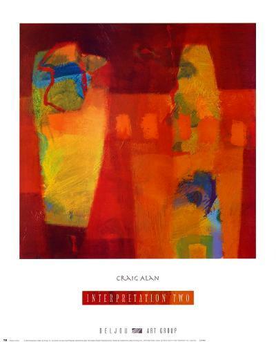 Interpretation II-Craig Alan-Art Print