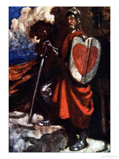 Interpreter Called For a Manservant of His, The Pilgrim's Progress Macgregor, Pub. Jack, 1907-John Byam Shaw-Giclee Print