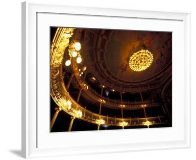 Interrior of National Theater, San Jose, Costa Rica-Scott T^ Smith-Framed Photographic Print