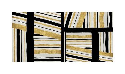 Intersect - Golden-Ellie Roberts-Giclee Print