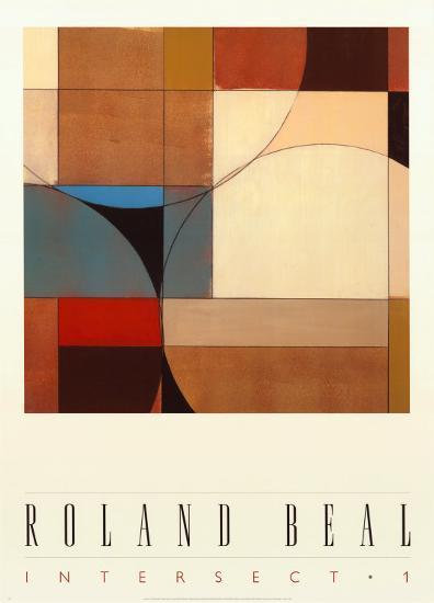 Intersect I-Roland Beal-Art Print
