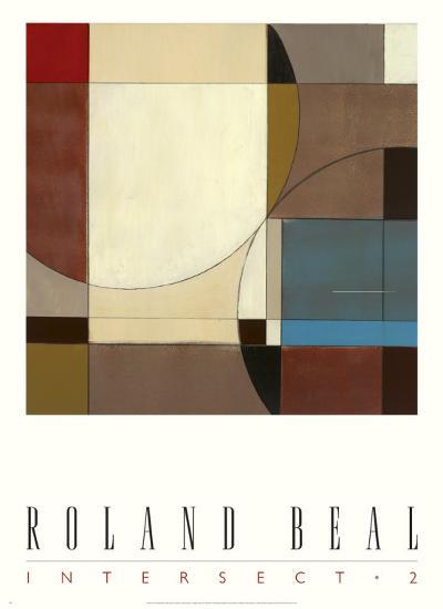 Intersect II-Roland Beal-Art Print