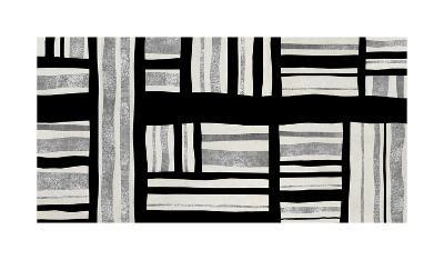 Intersect - Silver-Ellie Roberts-Giclee Print