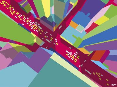 Intersection 1-Yoni Alter-Giclee Print