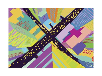 Intersection 2-Yoni Alter-Giclee Print
