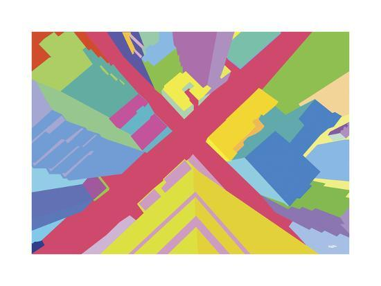 Intersection 3-Yoni Alter-Giclee Print