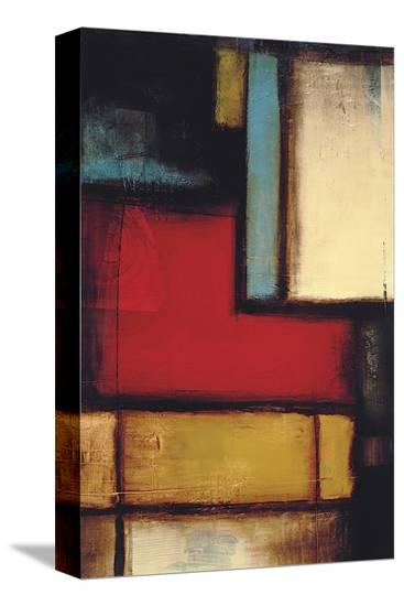 Intersection II-Candice Alford-Stretched Canvas Print